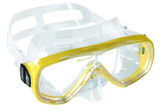 Picture of Onda Mask Sil Clear-Frame Yell