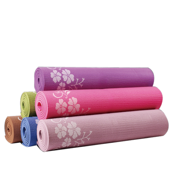 Picture of Pvc Yoga Mat With Printing Blu
