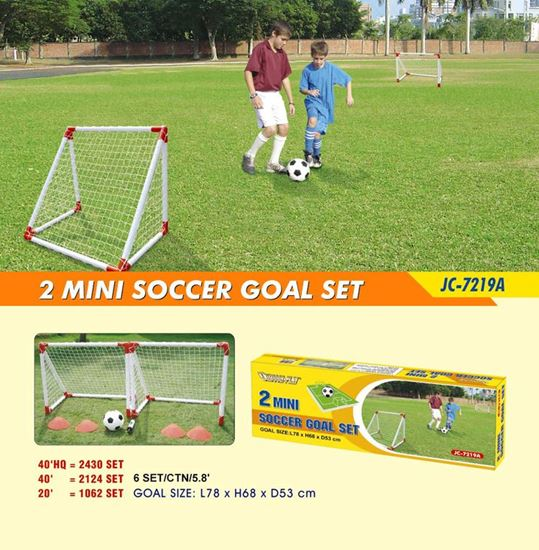 Picture of 2 Junior Soccer Goal Set