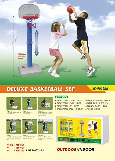 Picture of Deluxe Basketball Set