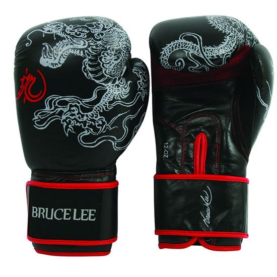 Picture of Bruce Lee Dragon Boxing Gloves 12OZ