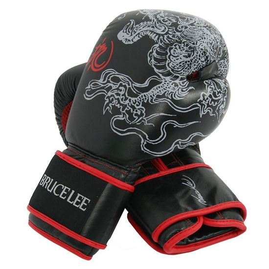 Picture of Bruce Lee Dragon Boxing Gloves 14OZ