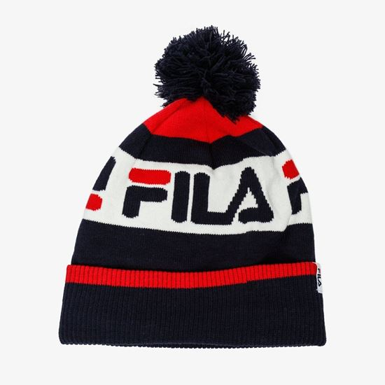 Picture of Unisex Intarsia Knitted Beanie