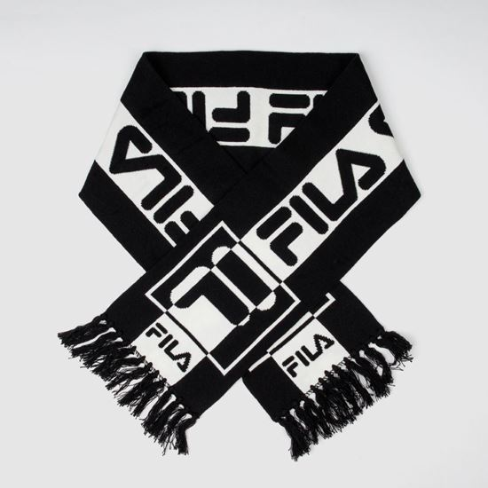 Picture of Unisex Intarsia Knitted Scarf