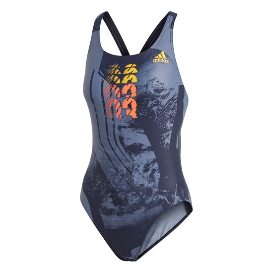 Picture of Graphic Fitness Swimsuit