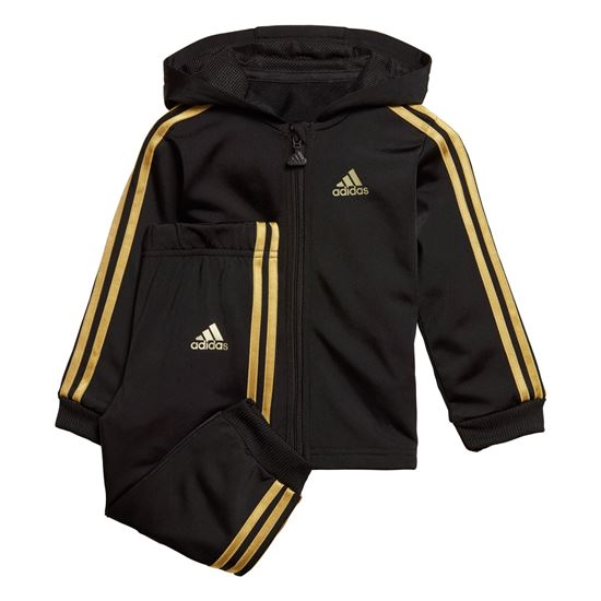 Picture of Shiny Hooded Jogger Set