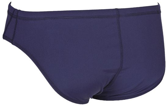 Picture of M Solid Brief Navy-White