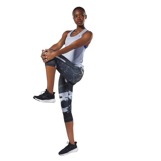 Picture of Workout Ready AOP Capris