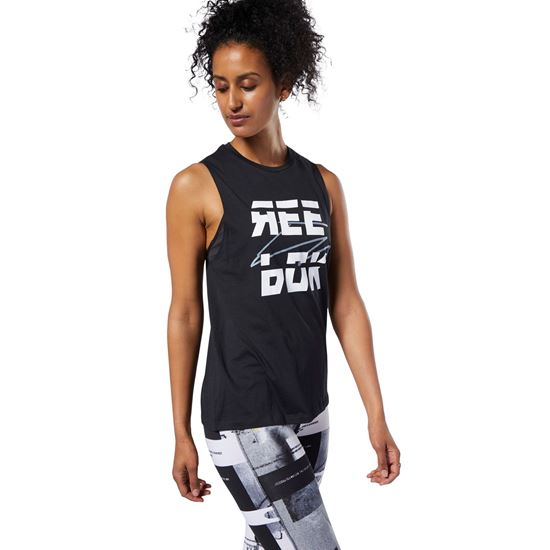 Picture of Meet You There Muscle Tank Top