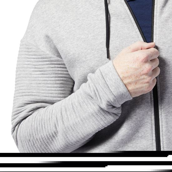 Picture of Workout Ready Full-Zip Fleece Hoodie