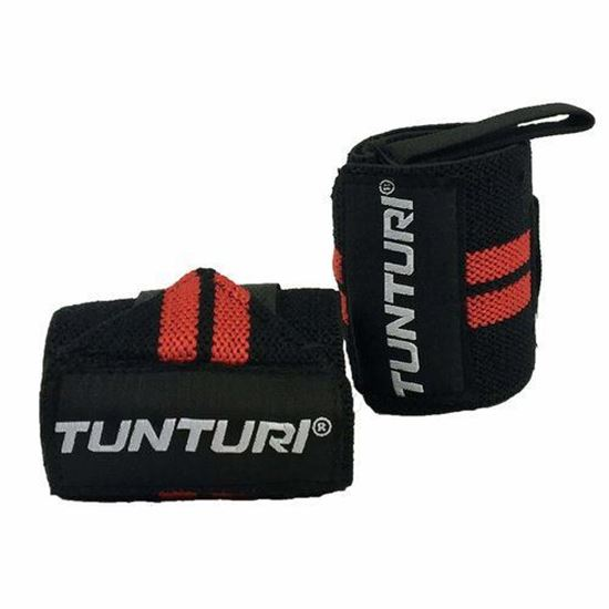 Picture of Wrist Wrap Red Pair