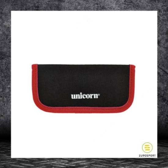 Picture of Midi Velcro Wallet Blk-Red 3Up