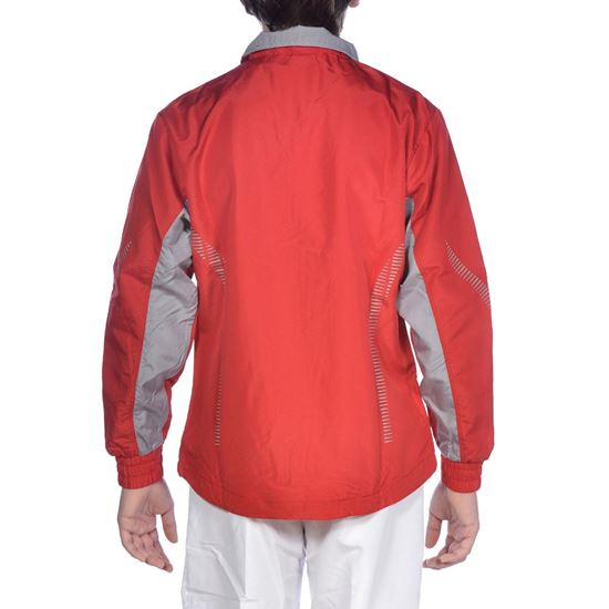 Picture of Jr Tl Warm Up Jacket Red-Grey