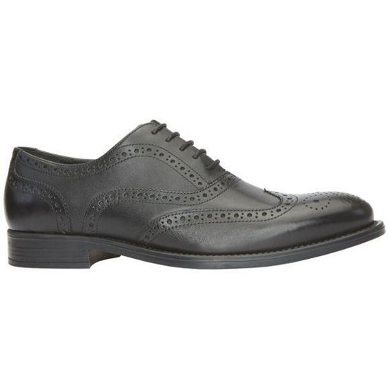 Picture of Real Leather Brogue Shoes