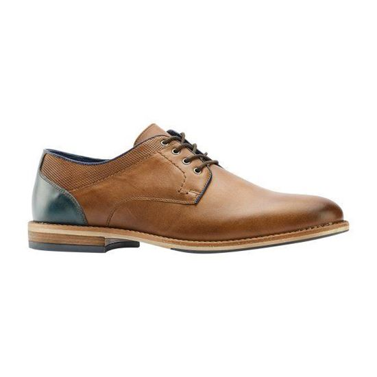 Picture of Real Leather Derby Shoes