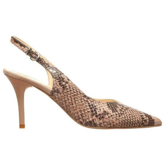 Picture of Pointed Slingback With Animal
