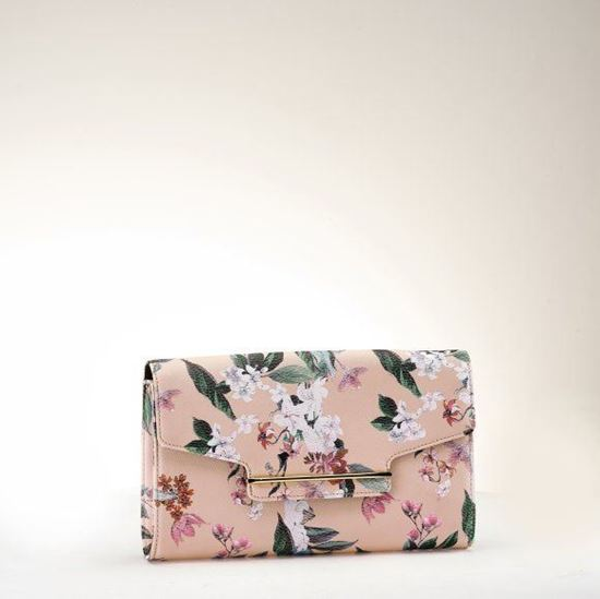 Picture of Clutch With Floral Print