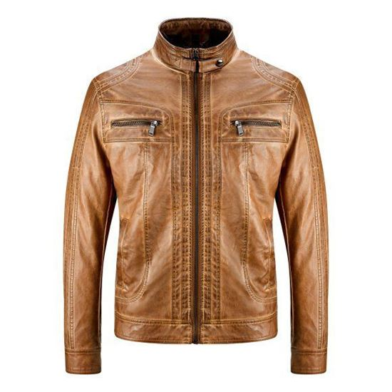 Picture of Faux Leather Jacket