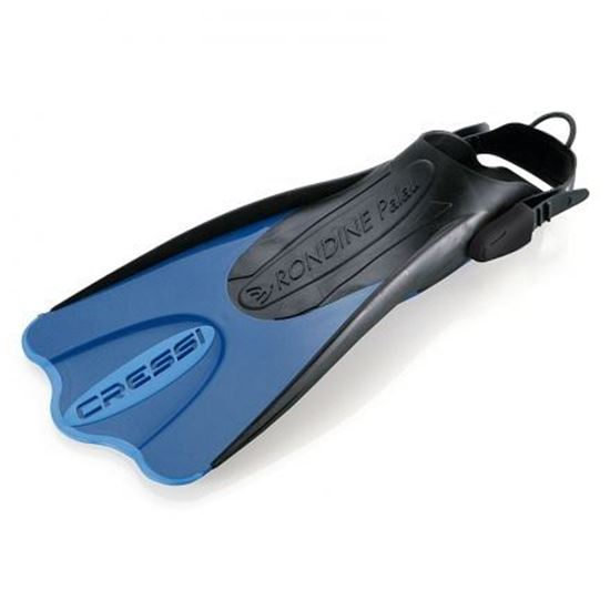 Picture of Elastic Short Fins Blue L-Xl