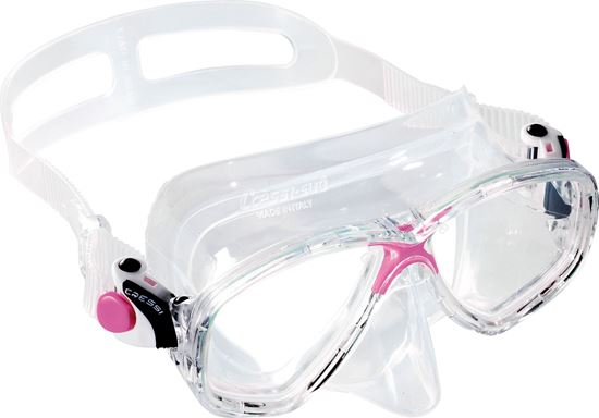 Picture of Marea Mask Sil Clear-Fram Pink