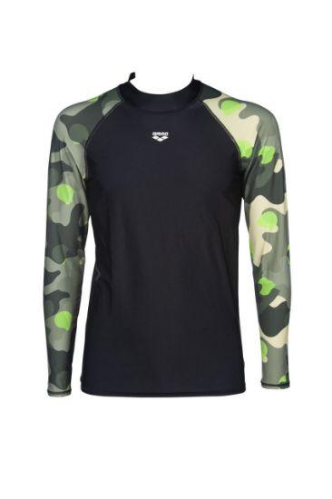 Picture of M Rash Vest Ls Allover