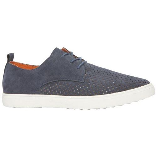 Picture of Suede Leather Lace-Up Shoes
