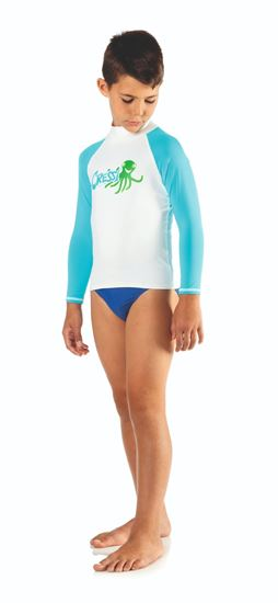 Picture of Octopus Jr Rash Guard Long-Sl