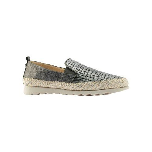 Picture of Metallic Leather Slip-On