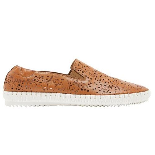 Picture of Perforated Leather Slip-On