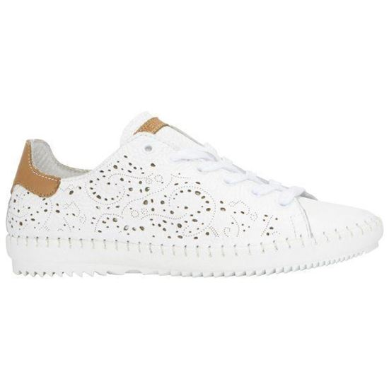 Picture of Perforated Leather Sneakers