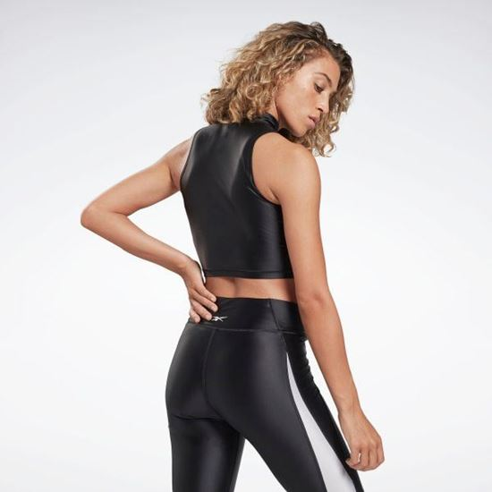 Picture of Sh Shiny Lycra Crop