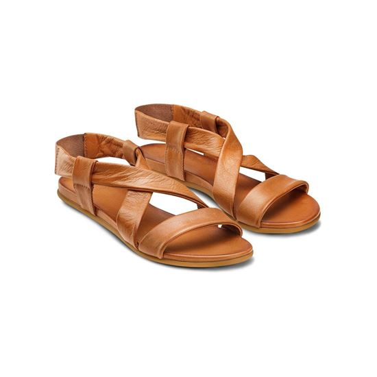 Picture of Flat Leather Sandals