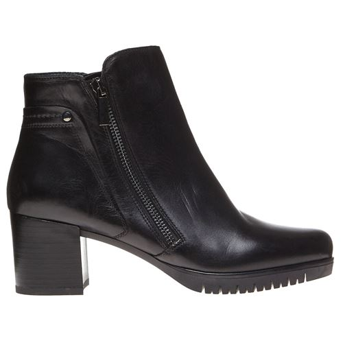 Picture of LEATHER ANKLE BOOTS