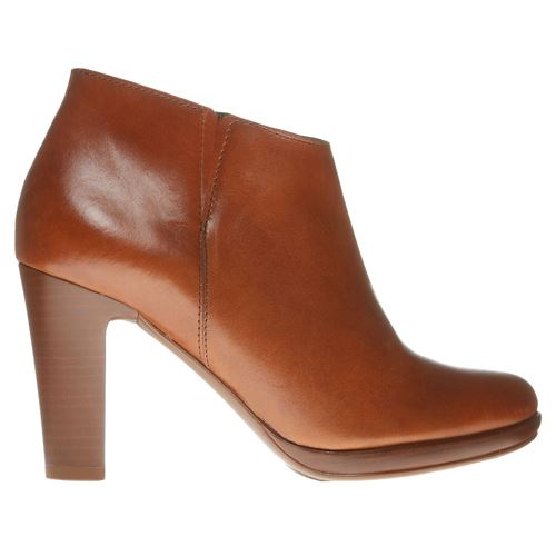 Picture of LEATHER ANKLE BOOTS WITH HEEL