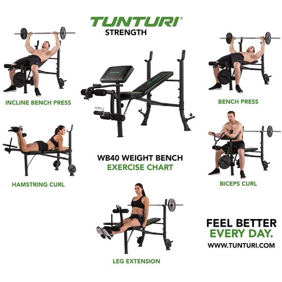 Picture of WB40 WEIGHT BENCH