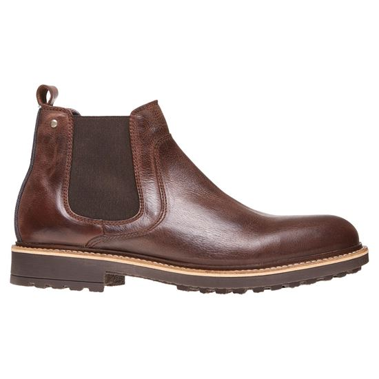 Picture of CHELSEA BOOTS IN GENUINE LEATH