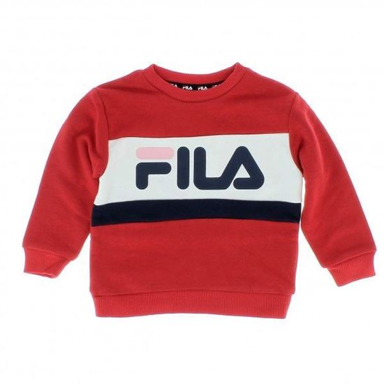 Picture of CARL BLOCKED CREW SWEAT