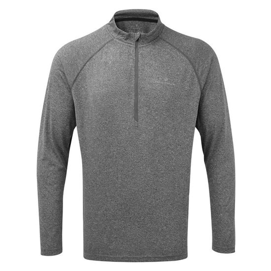 Picture of MENS EVERYDAY L-S ZIP TEE