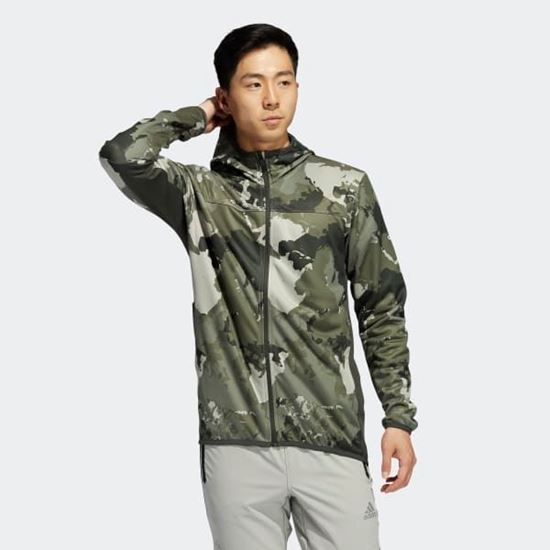 Picture of CONTINENT CAMO CITY HOODIE