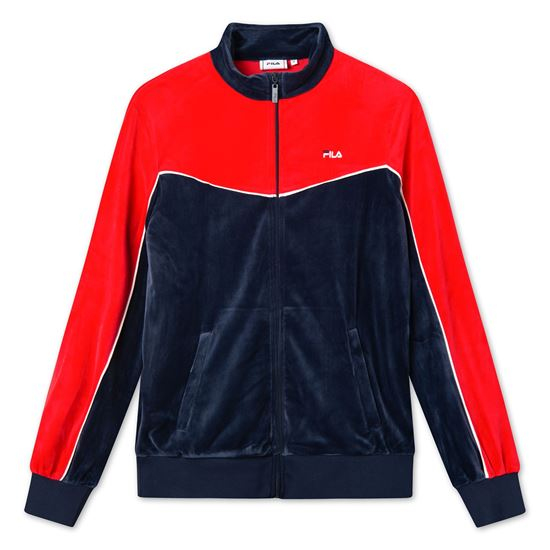 Picture of BARY VELOUR TRACK JACKET