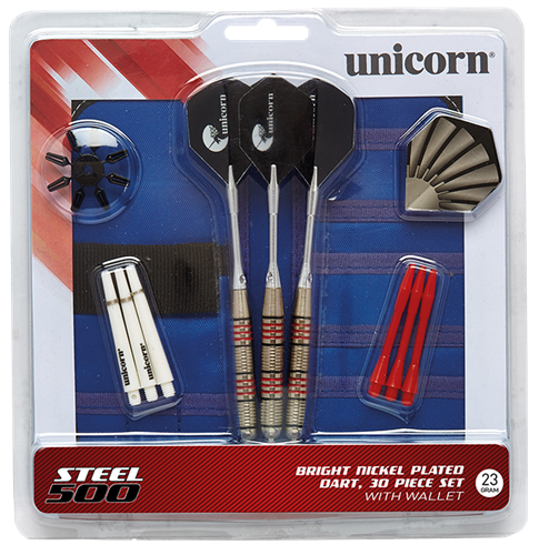 Picture of STEEL 500 DARTS 3SETS