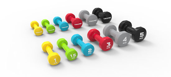 Picture of COLORED STUDIO DUMBBELL X2