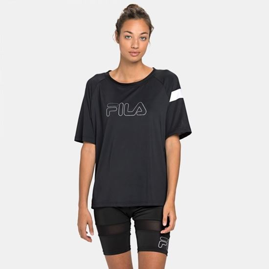 Picture of ALESSANDRA CREW NECK LOOSE TEE