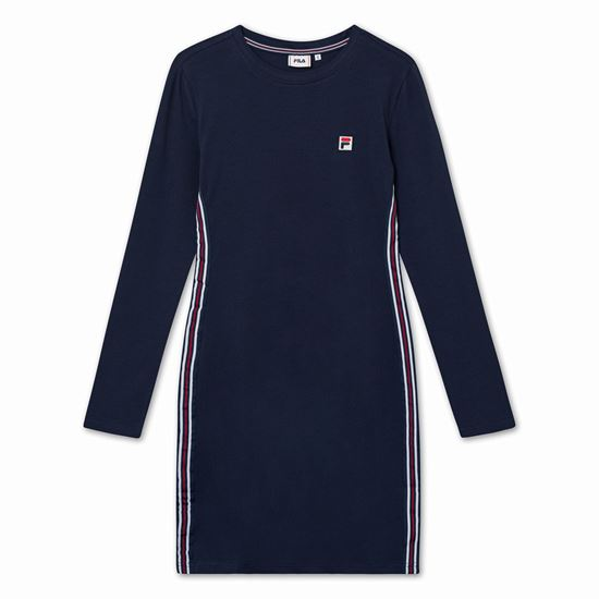 Picture of HESPER LONG SLEEVE DRESS
