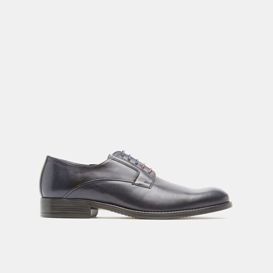 Picture of OXFORD SHOES IN GENUINE LEATHE