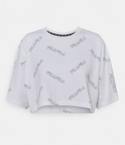 Picture of JAMILIA AOP WIDE CROPPED TEE