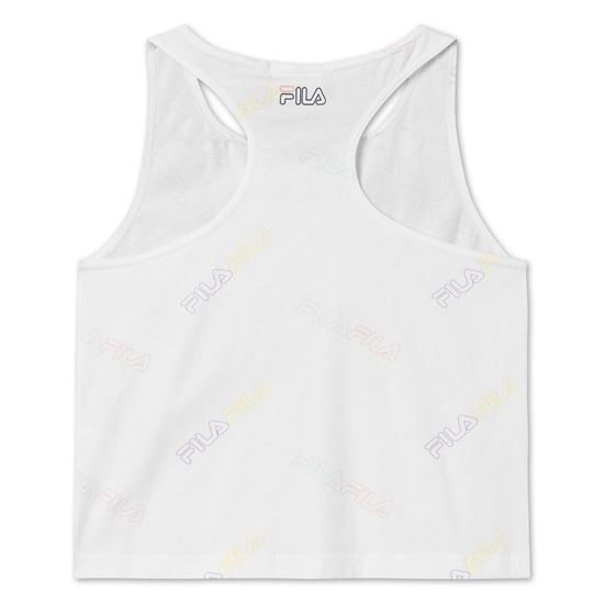 Picture of JULEEN AOP CROPPED TANK TOP