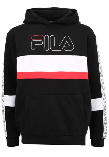 Picture of JULWIN BLOCKED TAPE HOODY