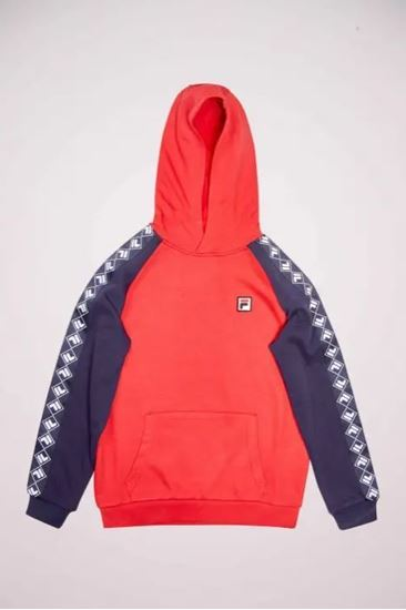 Picture of SASCH TAPED HOODY