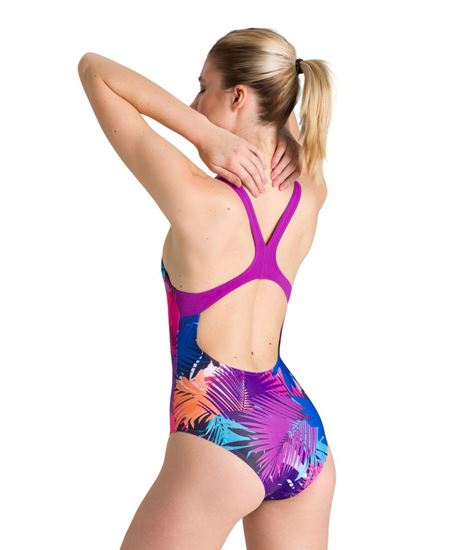 Picture of PALM PRINT SWIM PRO BACK